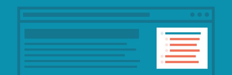 WordPress Navigation - simple section plugin