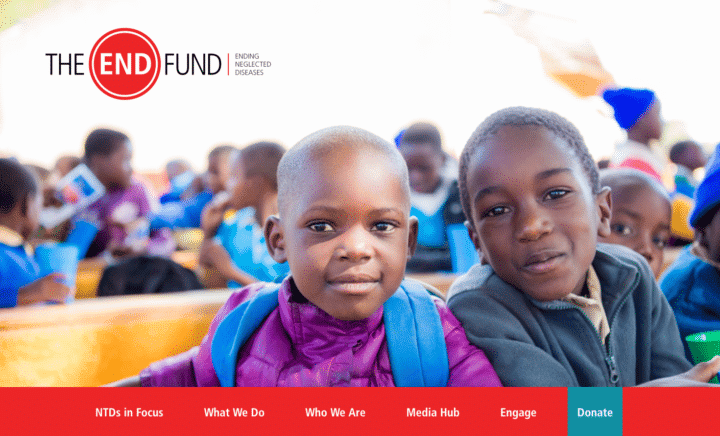 the end fund homepage
