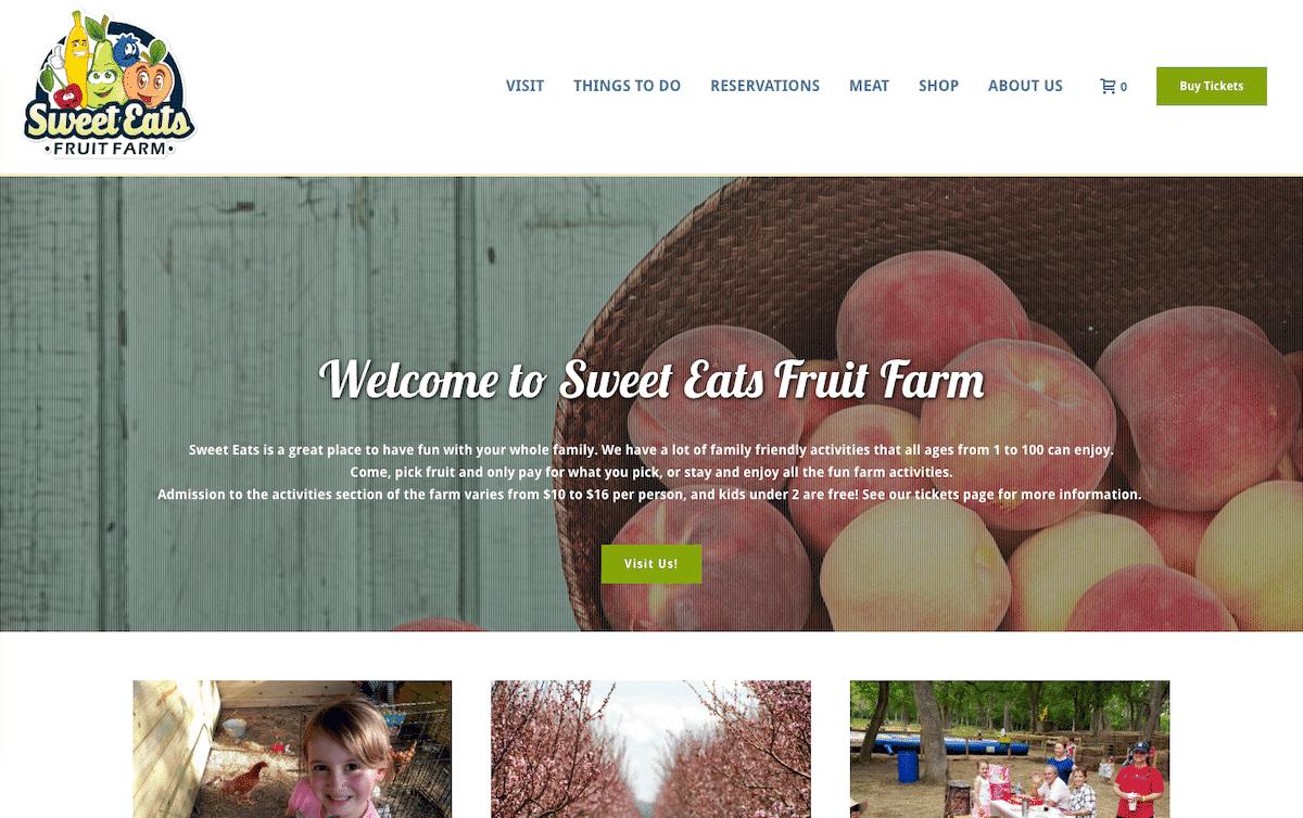 Screenshot of Online Store Provides New Revenue Options for Texas Farm