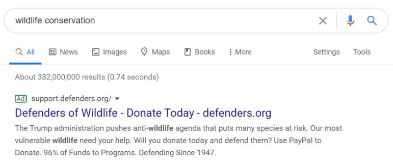 Boost your digital fundraising with Google Grants.