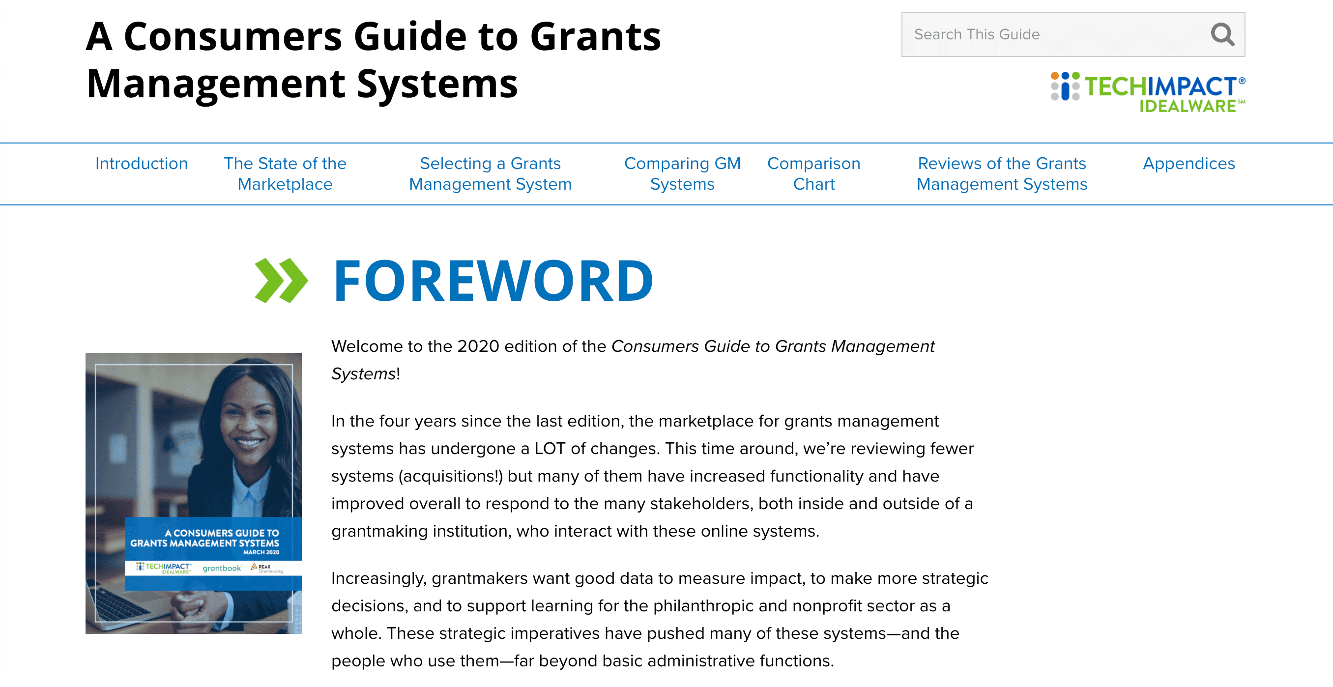Screenshot of WordPress Multisite Supports New Technical Guides for Nonprofits