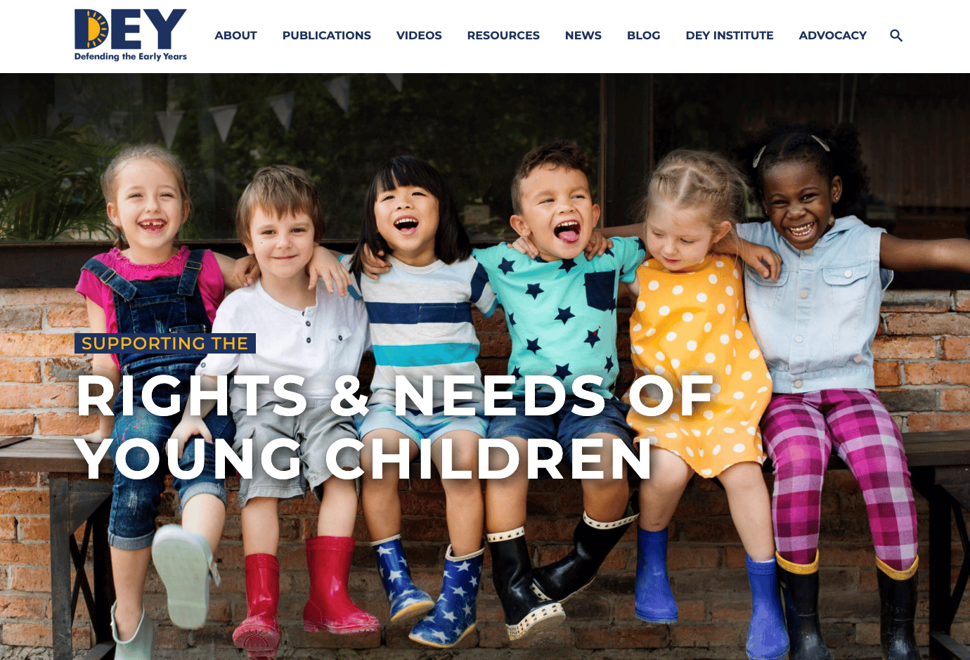 Screenshot of Defending the Early Years