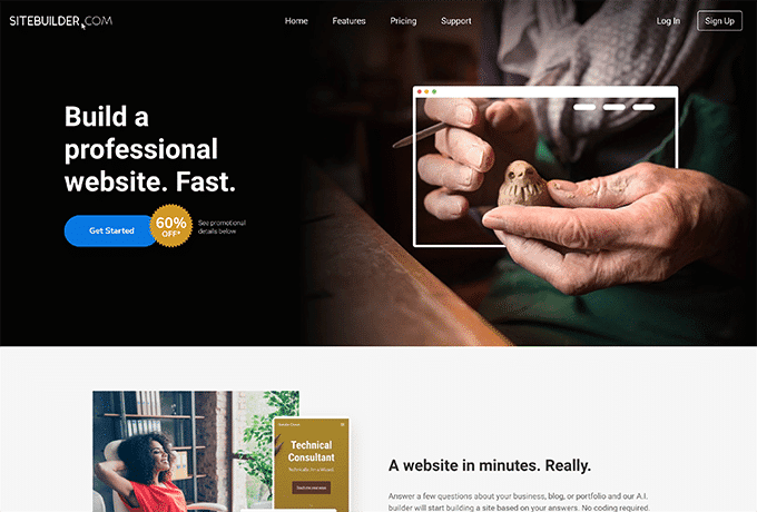 Learn more about SiteBuilder by visiting their website.
