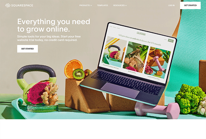 Learn more about SquareSpace by visiting their website.
