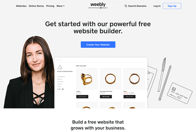 Learn more about Weebly by visiting their website.