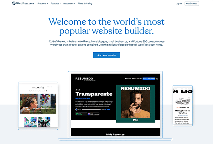 Learn more about WordPress by visiting their website.