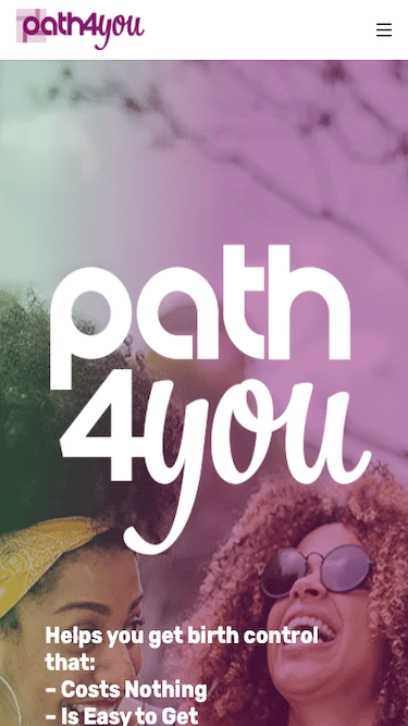 Path4You Mobile Website