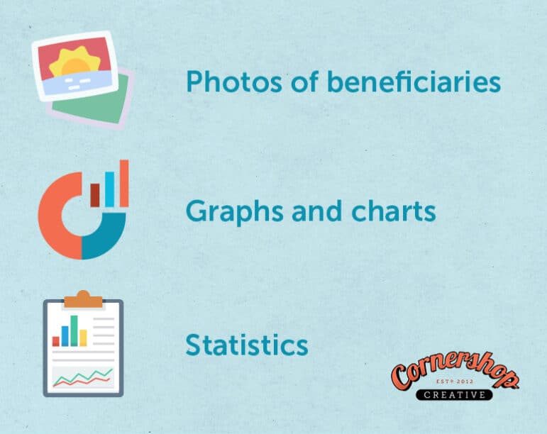 A few image options to consider for your annual report.