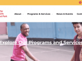Screenshot of Center for Family Life Website