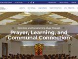 Screenshot of Congregation Beth David Website