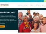 Screenshot of California Pan-Ethnic Health Network Website