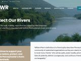 Screenshot of Pennsylvania Organization for Watersheds and Rivers (POWR) Website