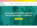 Screenshot of California Reducing Disparities Project Website
